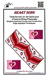 HEART SONG  BARGELLO TABLE RUNNER  PATTERN, BY ANN LAUER