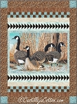 CANADA GEESE  QUILT KIT, LAP 54'' X 72''