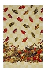 BOUNTIFUL HARVEST, 56'' WIDE TABLECLOTH FABRIC,BY FABRI-QUILT