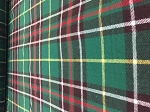 NEWFOUNDLAND TARTAN, FLANNEL,55 INCHES WIDE