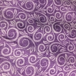 108'' Wide PURPLE SWIRL Flannel from AE Nathan CO
