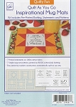 QUILT AS YOU GO, QUILTY FUN,MUG MATS ,BY JUNE TAILOR INC