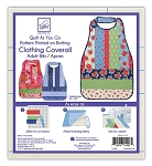 QUILT AS YOU GO ,COVERALL ADULT BIB