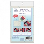 QUILT AS YOU GO, 2-1/2'' MUG MATS ,BY JUNE TAILOR INC