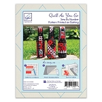 QUILT AS YOU GO, WINE TOTES  BY JUNE TAILOR INC