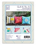 QUILT AS YOU GO, PILLOW COVERS 3 PKG ,BY JUNE TAILOR INC