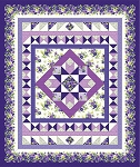 EMMA'S GARDEN, QUILT KIT, BY MAYWOOD STUDIO