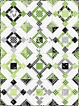 FAIR AND SQUARE QUILT KIT, BY MAYWOOD STUDIO