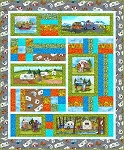 QUILTERS  ROAD TRIP  QUILT KIT,BY MAYWOOD STUDIO