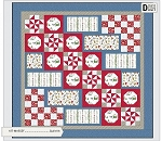 SANTA'S STOCKING FILLERS FLANNEL QUILT KIT, BY MAYWOOD STUDIO