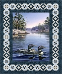 LOON LAKE CALM QUILT KIT