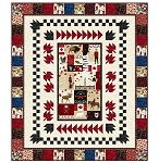CANADIAN CLASSICS , CANADA,MY HOME QUILT KIT