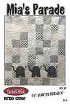 MIA'S PARADE QUILT PATTERN,BY QUILT PATCH PATTERN COMPANY