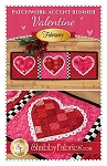 VALENTINE PATCHWORK ACCENT RUNNER  PATTERN , BY SHABBY FABRICS