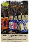 MARY ELIZABETH TOTE BAG PATTERN ,BY SWEET JANE'S