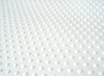 Cotton Backing With Vinyl Dots