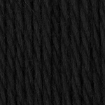 CLASSIC WOOL WORSTED,BLACK , BY PATONS