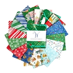 MAKE MERRY FAT QUARTER BUNDLE, BY WINDHAM