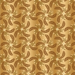 COUNTRY JOURNEY , CREAM/GOLD PINWHEEL OMBRE, BY HENRY GLASS