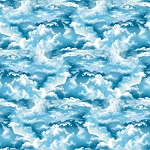 THE LIGHTKEEPER'S QUILT, BLUE CLOUDS, BY STUDIO E