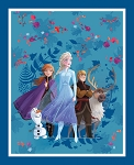 DISNEY FROZEN 2,FRIENDS FOREVER PANEL, BY SPRINGS CREATIVE