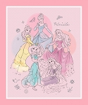 DISNEY PRETTY PRINCESS PANEL, BY SPRINGS