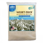 Pellon Natures Touch Natural Blend 80/20 Batting no scrim Full-Sized 81in x 96in