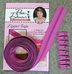 ZIPPER TAPE FUCHSIA, BY DECORATING DIVA