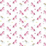 DESIGNER FLANNEL, ONCE UPON A TIME UNICORN WHITE, BY RILEY BLAKE DESIGNS