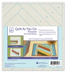 QUILT AS YOU GO, JAKARTA PLACEMATS ,BY JUNE TAILOR INC