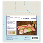 QUILT AS YOU GO, CASSEROLE CADDY, BY JUNE TAILOR INC