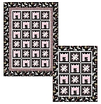 CASTLE AND STARS QUILT PATTERN ,