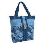 GOT THE BLUES,  BODACIOUS BUTTON BAG PATTERN, BY CATHEY MARIE DESIGNS