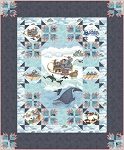 ARCTIC WONDERLAND TWIN QUILT KIT.