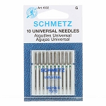SCHMETZ   UNIVERSAL NEEDLES, 70/10, 10CT