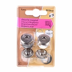 Magnetic Purse Snap Silver,19mm, 2 per pack