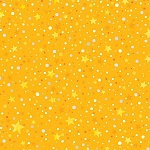 WINTER LIGHTS, YELLOW  STAR DOT, BY P AND B TEXTILES