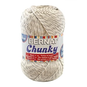 Bernat Softee Chunky 400gm yarn, Grey Ragg