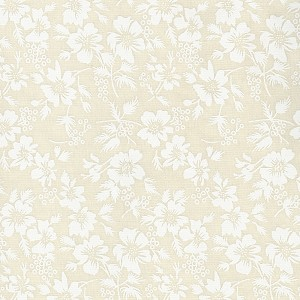 CREAM FLORAL TONE ON TONE , BY BASIC PALETTE