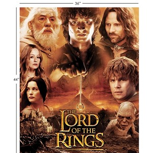 THE LORD OF THE RINGS QUILT KIT