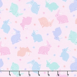 LOVE BUNNY,LITTLE BUNNIES PINK ,BY KANVAS