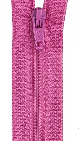 All Purpose Polyester Coil 16'' Zipper Dark Rose , from Coats & Clark