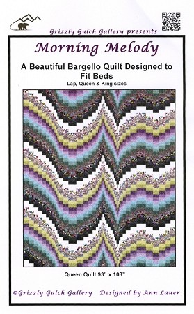 MORNING MELODY BARGELLO QUILT PATTERN, BY ANN LAUER