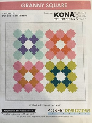 GRANNY SQUARE QUILT KIT