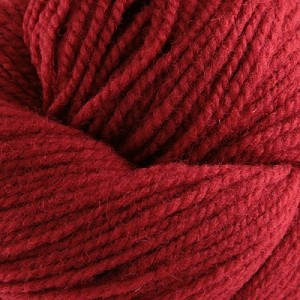 Red Heritage wool, from Briggs and Little