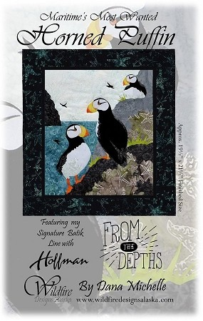 HORNED  PUFFIN  WALL HANGING KIT
