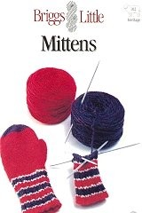 Mittens Pattern, by Briggs&Little
