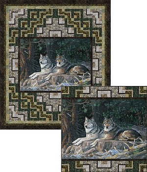 FOREST STILL LIFE QUILT PATTERN,BY PINE TREE COUNTRY QUILTS