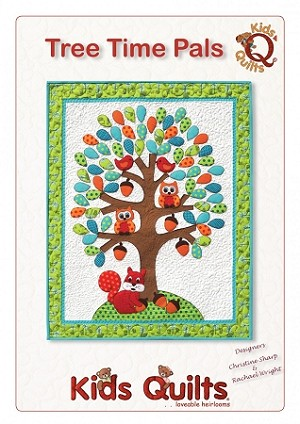 Tree Time Pals Quilt Pattern By Kids Quilts