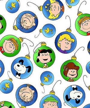 PEANUTS ,CHRISTMAS TIME  BY QUILTING TREASURES